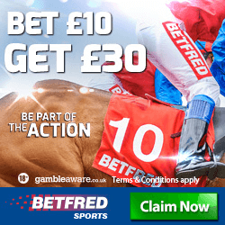 BETFRED - BET £10 GET £30