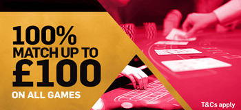 BETFAIR CASINO - £100 BONUS