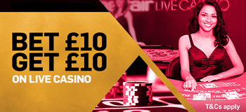 BETFAIR CASINO - BET £10 GET £10